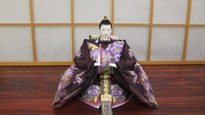 九番流水牡丹(紫)